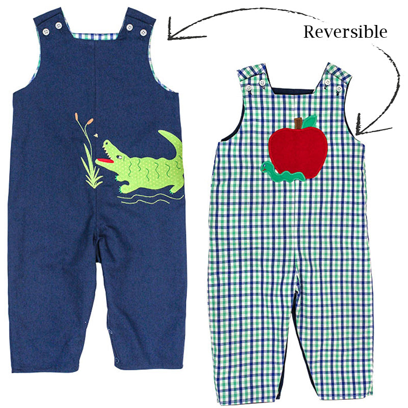 Alligator vs Apple ~ Reversible John John