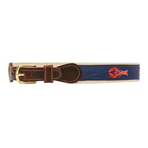 Lobster Buddy Belt - Cream Canvas