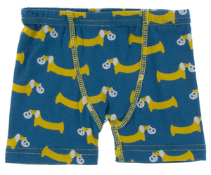 Boxer Briefs Set: Twilight Pretzel Pup & Natural Crocodile