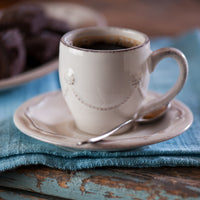 Berry & Thread Whitewash Demitasse Cup