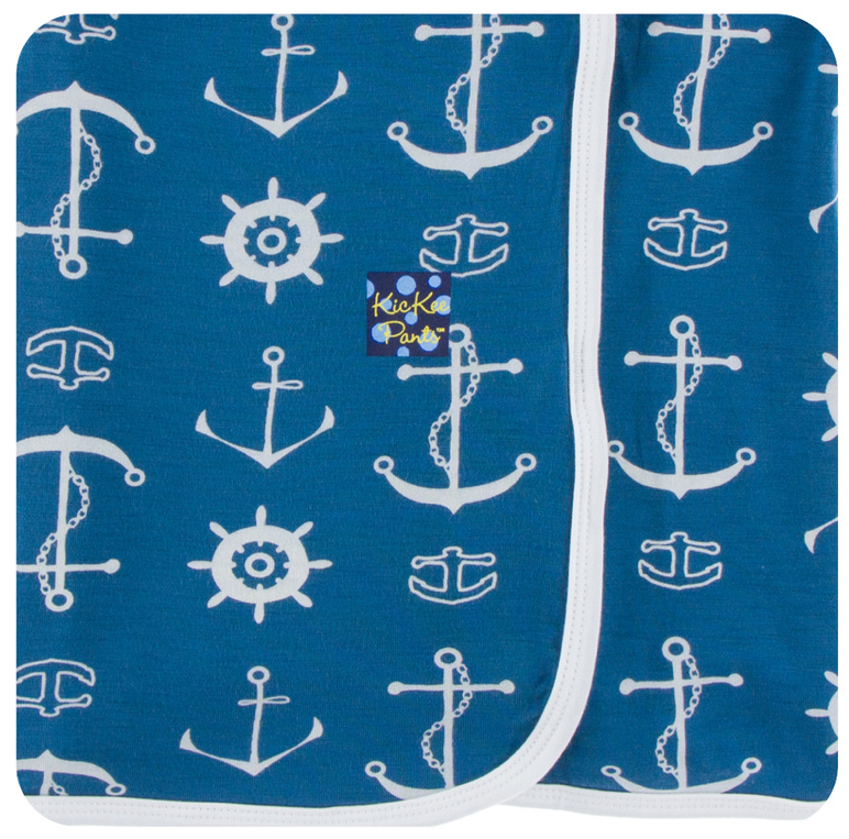 KicKee Pants - Twilight Anchor Swaddle - kkgivingtree - K&K's Giving Tree