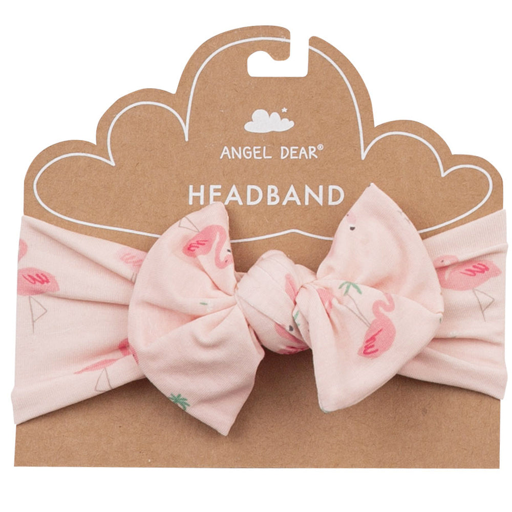 Flamingo Bow Headband