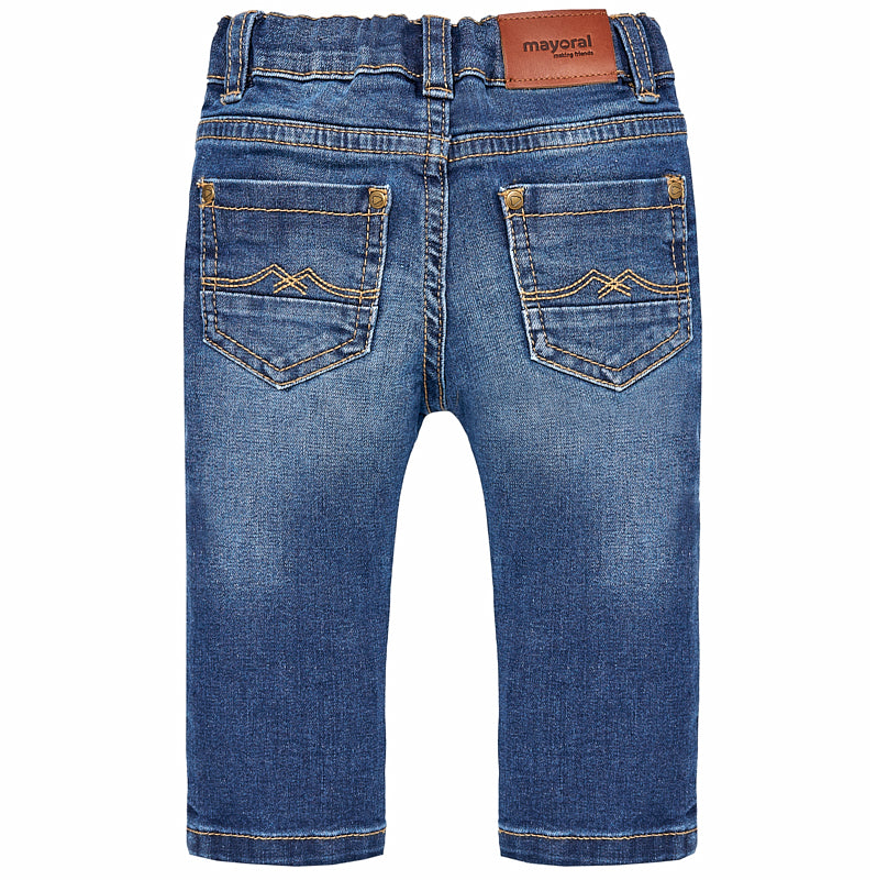 Baby Boy Basic Denim Slim Fit Jeans