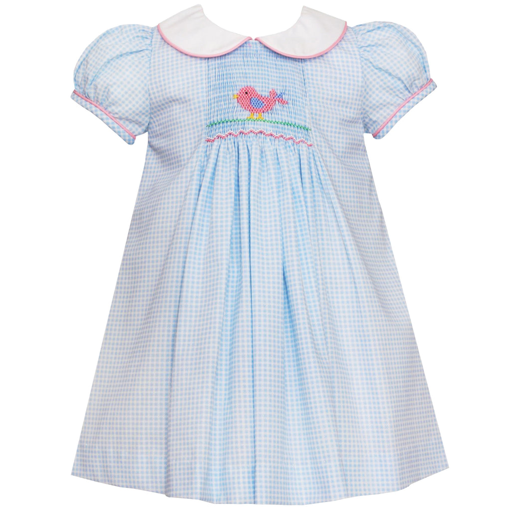 Light Blue Baby Bird Dress