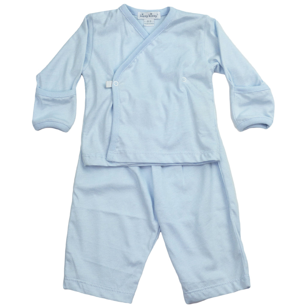 Signature Distinct Baby Blue Pant Set