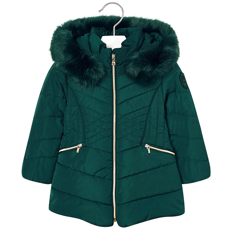 Bottle Padded Puffer Coat