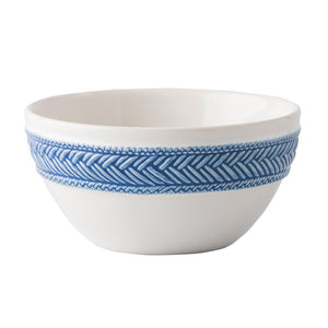 Le Panier Whte/Delft Cereal/Ice Cream Bowl