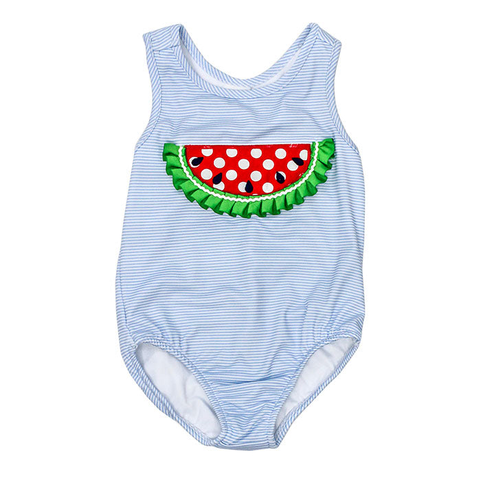 Watermelon One Piece Spandex Swim Suit