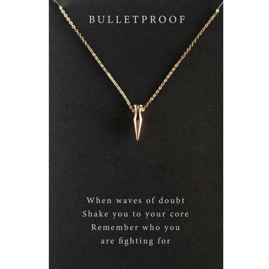 Bulletproof Necklace
