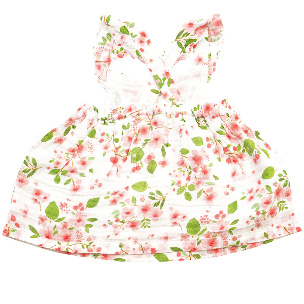 Cherry Blossom Pinafore Top & Bloomer Set