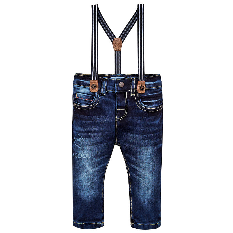 #COOL Jeans with Suspenders
