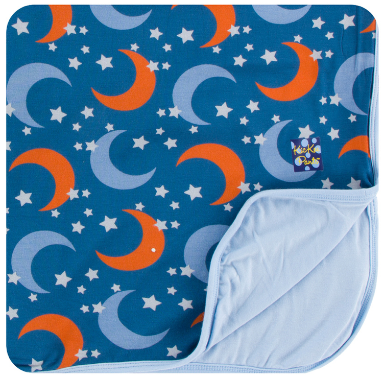 Twilight Moon & Stars Toddler Blanket