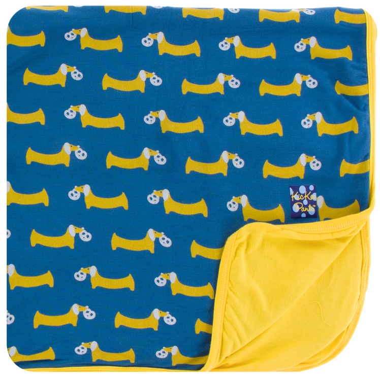 Twilight Pretzel Pup Toddler Blanket