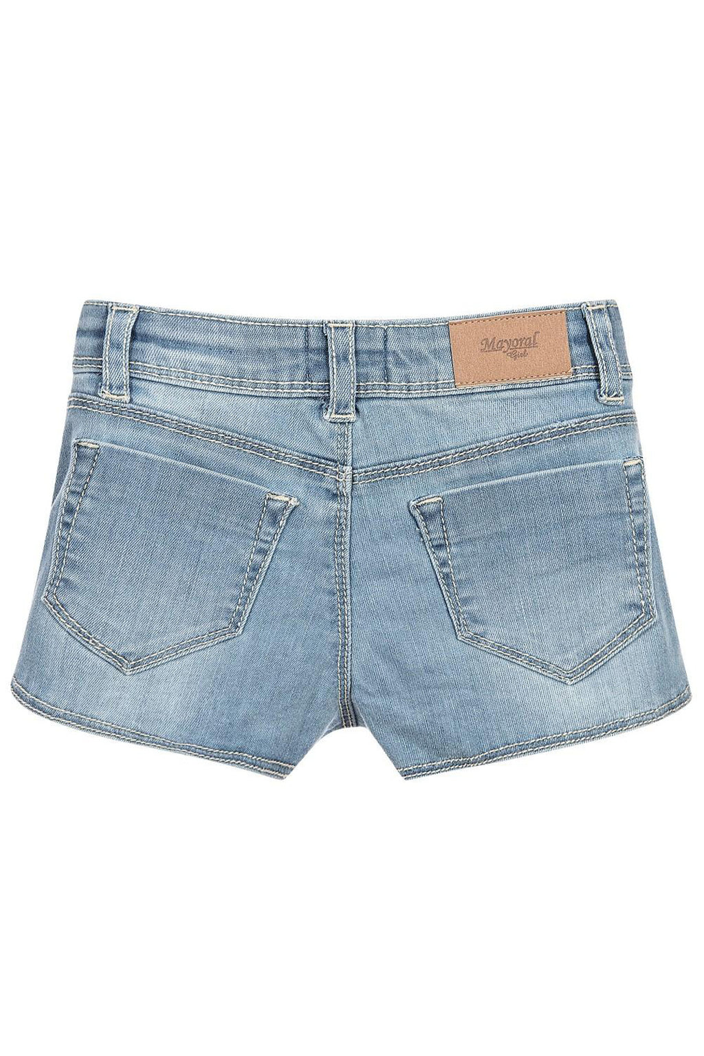 Mayoral - Denim Appliquê Shorts - kkgivingtree - K&K's