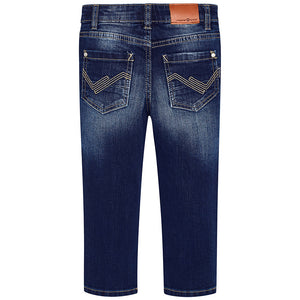 Regular Fit Dark Denim Jeans
