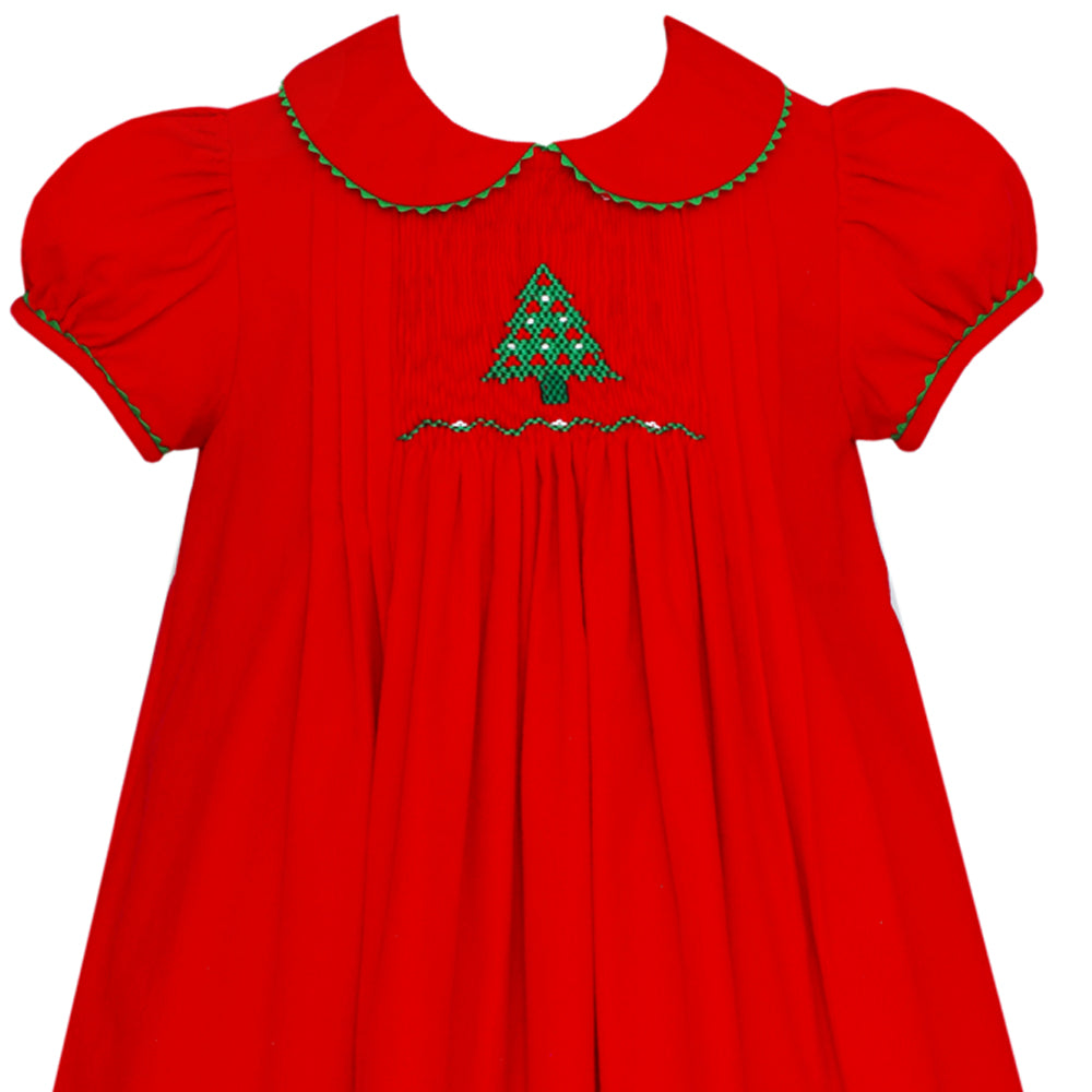 Red Christmas Tree Float Dress