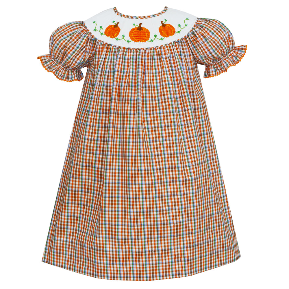 Pumpkin Bishop Dress