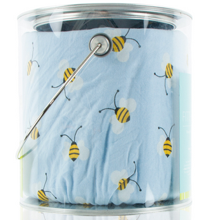 Pond Bees Fitted Crib Sheet