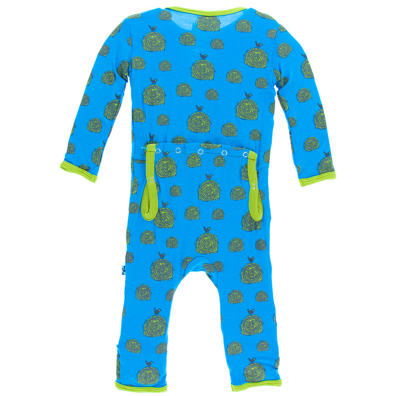 KicKee Pants - River Hay Bales Coverall with Snaps - kkgivingtree - K&K's Giving Tree