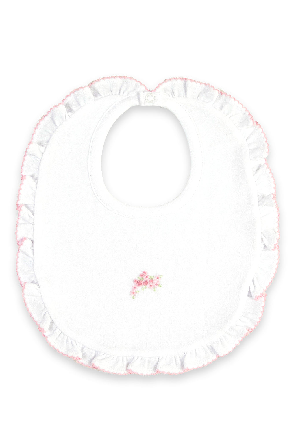 Kissy Kissy - Enchanted Garden Ruffle Bib - kkgivingtree - K&K's Giving Tree