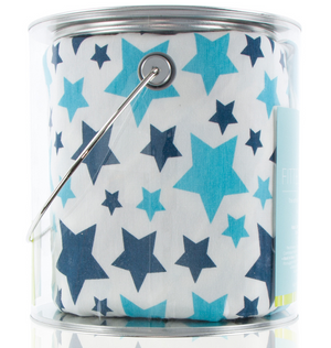 Confetti Star Fitted Crib Sheet
