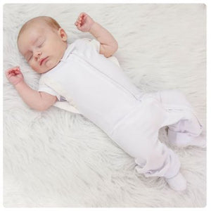 Convertible Leggies Sleeper - Marshmallow - kkgivingtree - K&K's Giving Tree