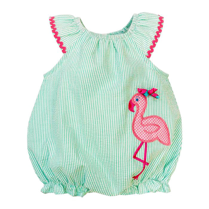 Bailey Boys - Flamingo Infant Bubble - kkgivingtree - K&K's Giving Tree