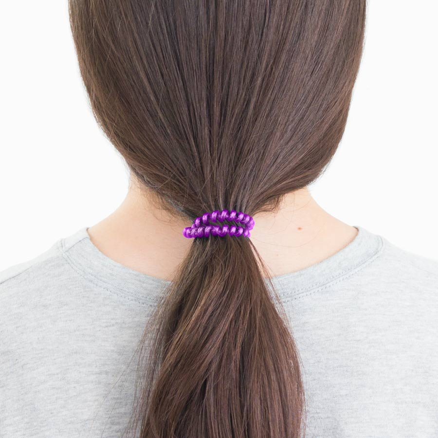 Purple Ombre 3-Pack Hair Ties