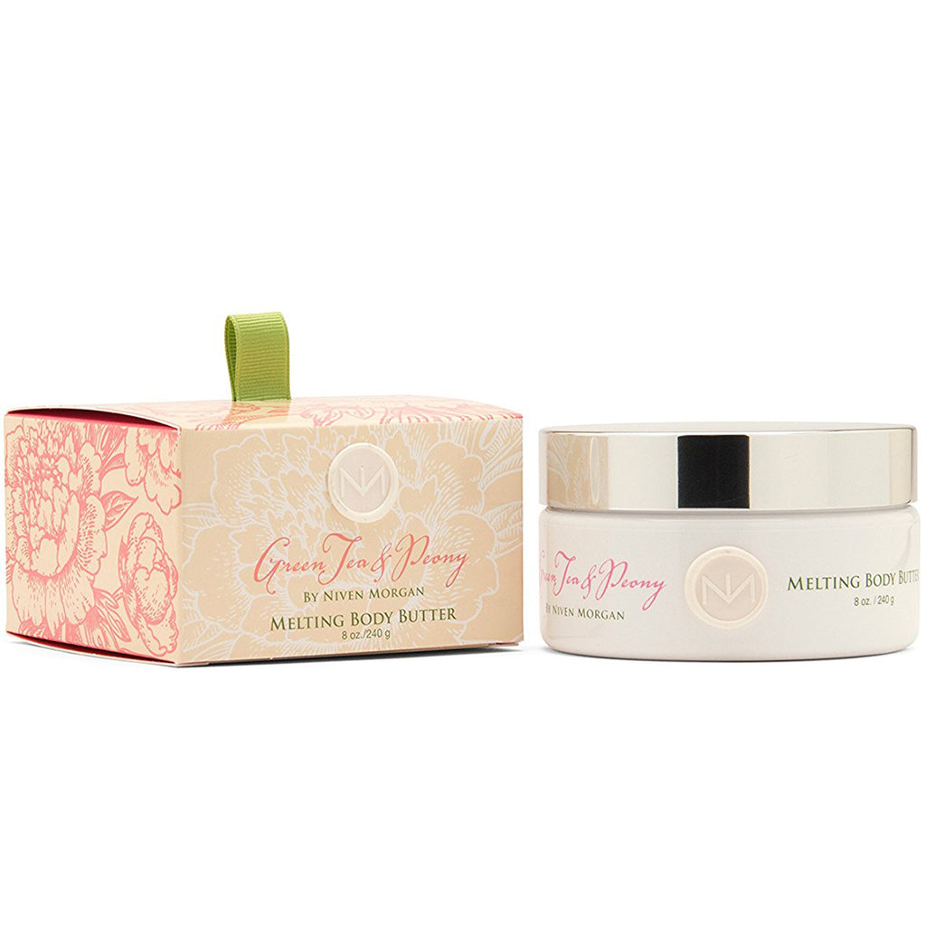 Niven Morgan - Green Tea & Peony Melting Body Butter - kkgivingtree