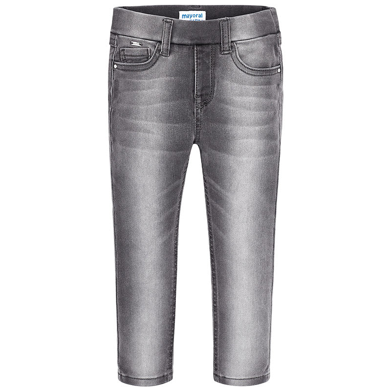 Super Slim Light Grey Denim Jeggings