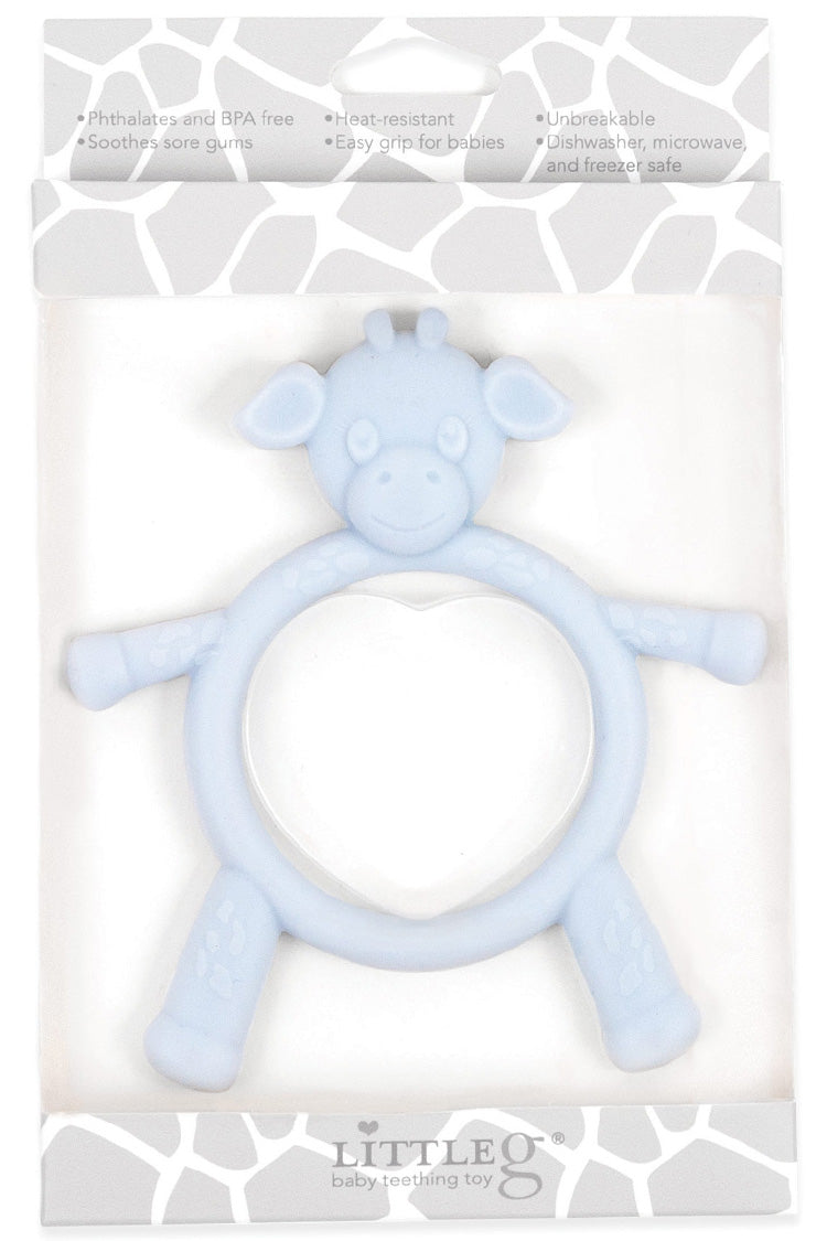 Little Giraffe - Blue Little G™ Teething Toy - kkgivingtree