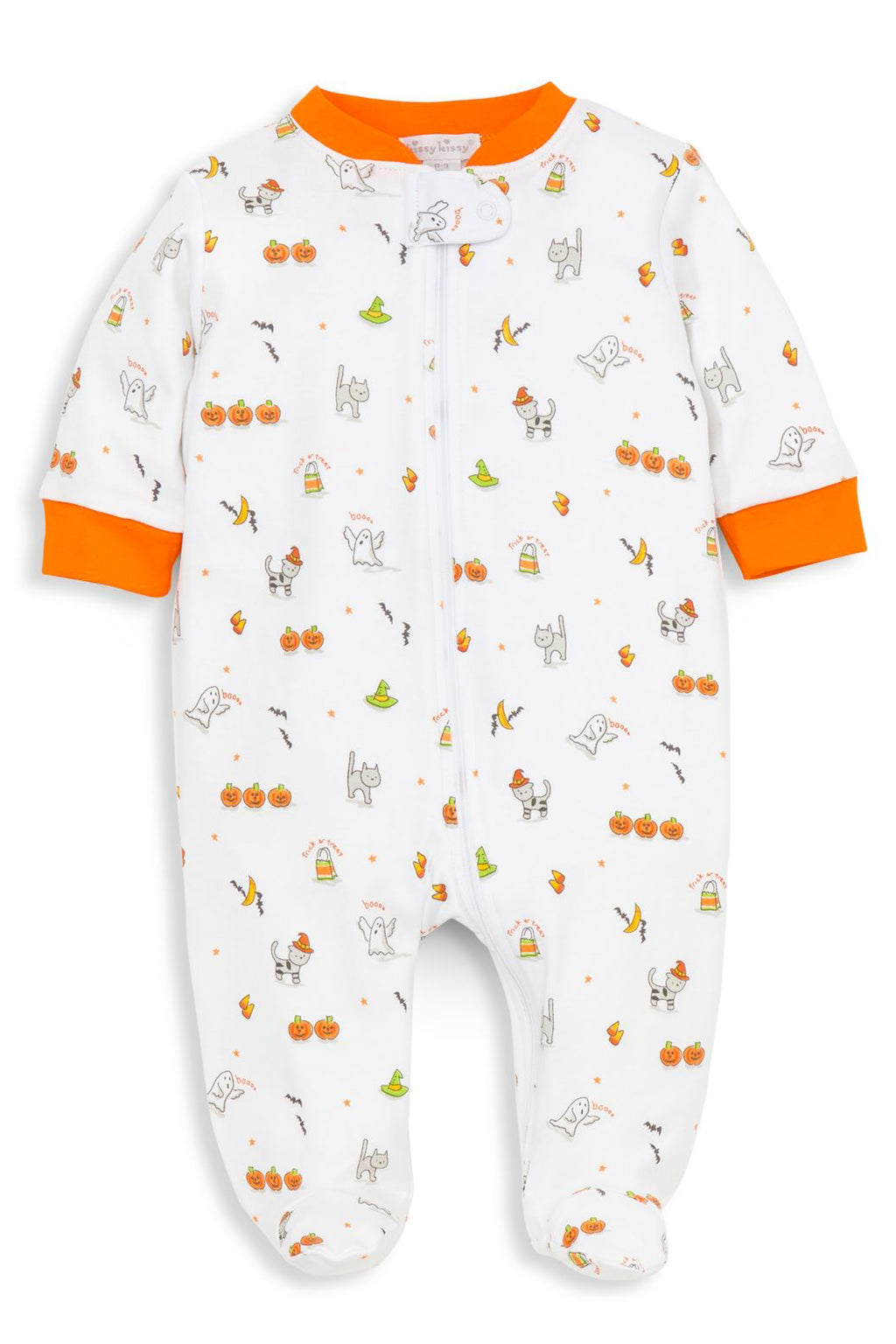 Baby's Bewitched Zip Footie