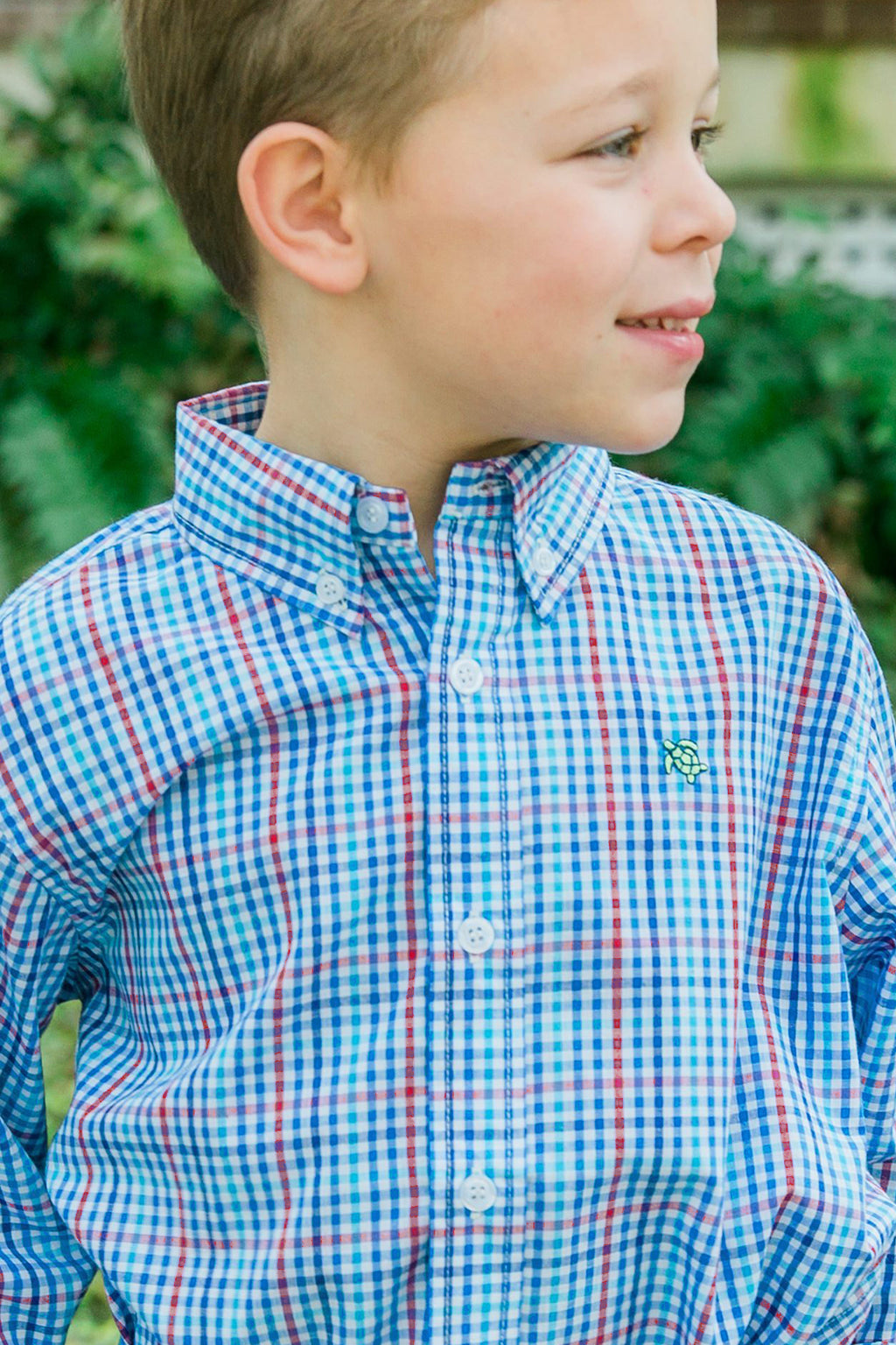 Heritage Plaid Button Down Shirt