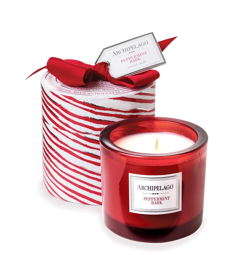 Peppermint Bark Gift Boxed Candle