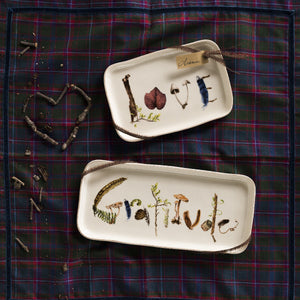 "Forest Walk 7.5"" Gift Tray Gratitude"