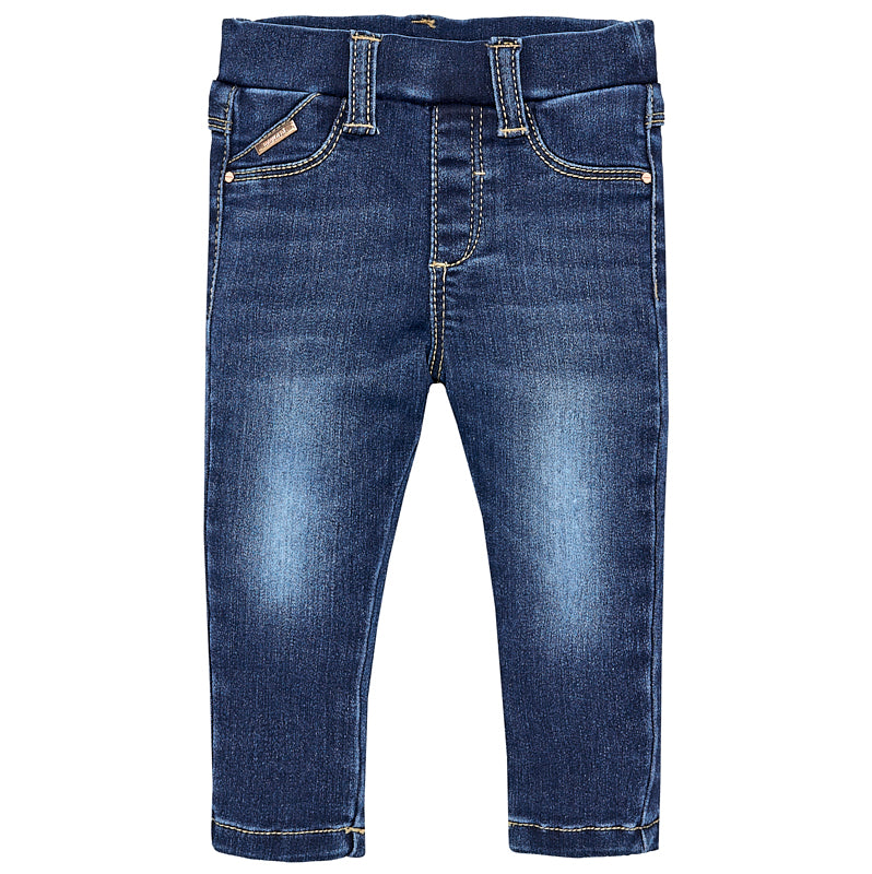 Baby Girls Super Skinny Denim Jeggings