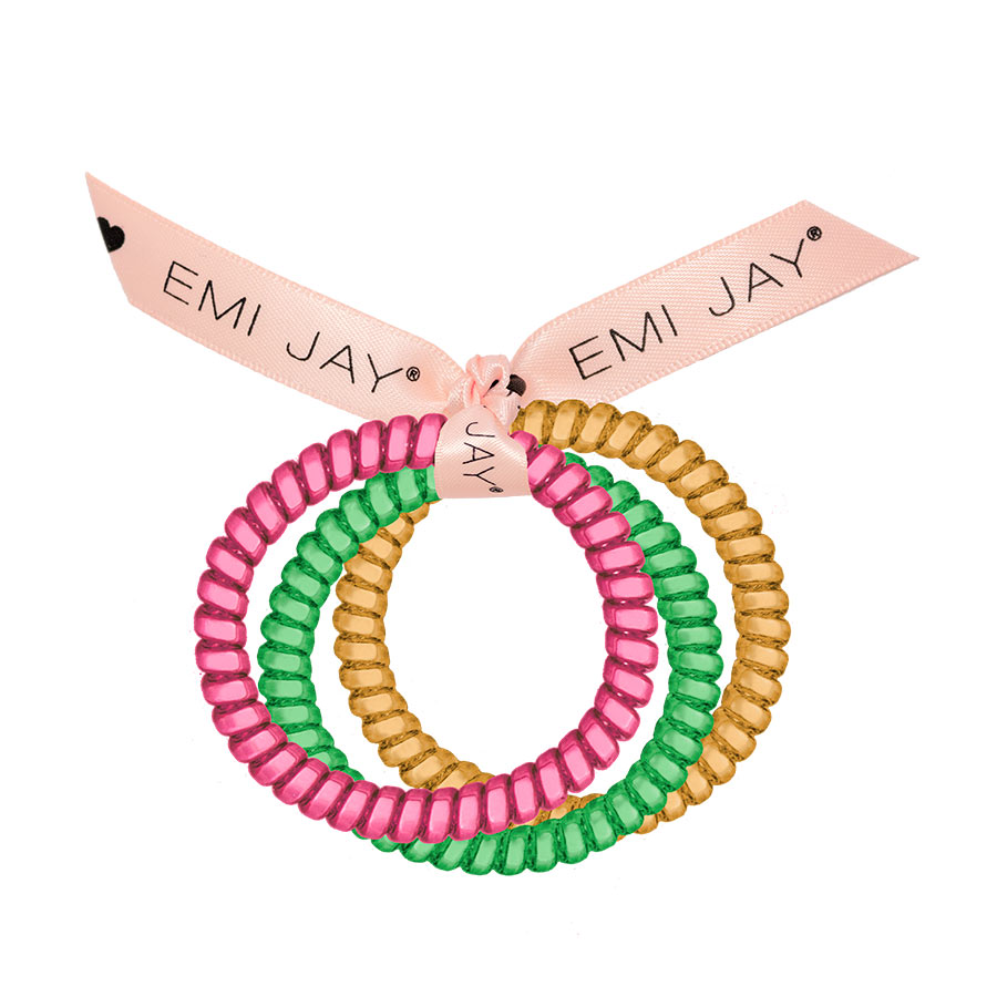 Jelly Beans 3-Pack Hair Ties