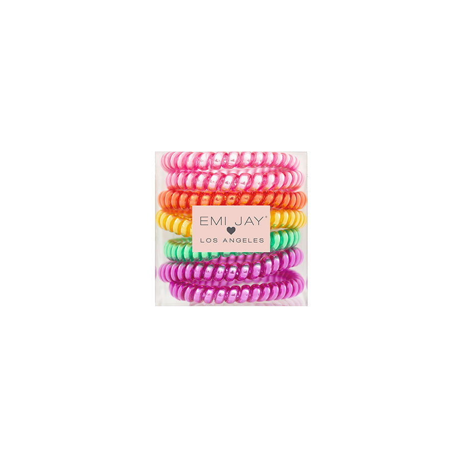 Jelly Beans 7-Pack Hair Ties