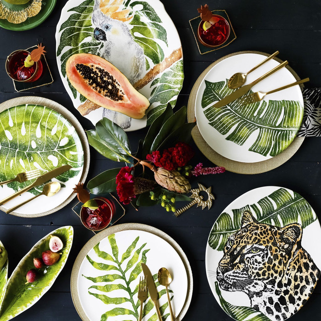 Into the Jungle Assorted Dinner Plates
