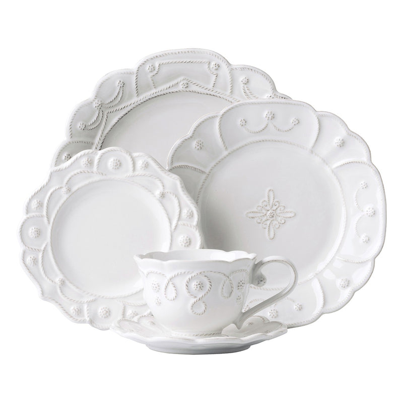 Jardins du Monde Whitewash 5pc Setting