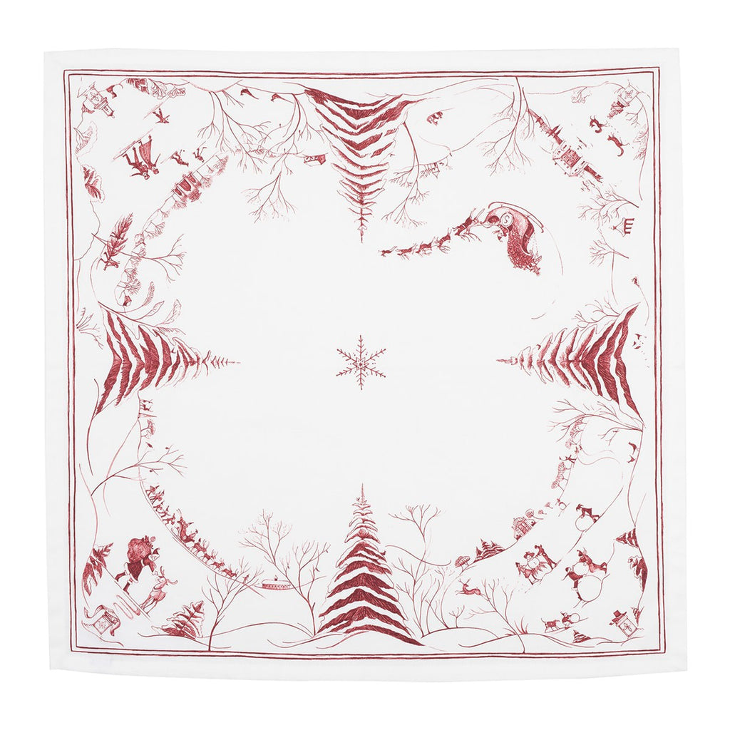 Country Estate Winter Frolic Napkin