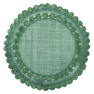 Isadora Placemat - Evergreen