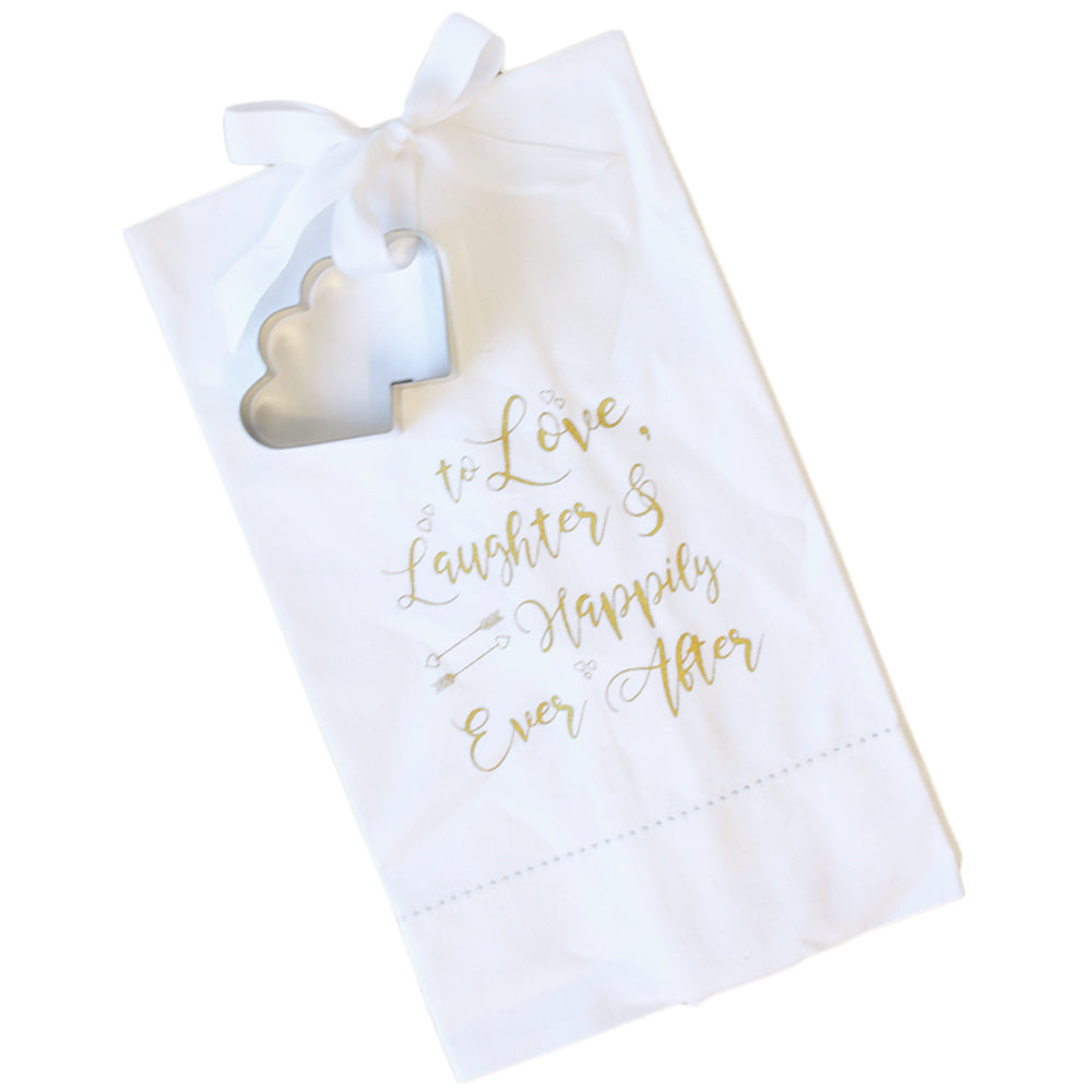Love Laughter Hand Towel & Cookie Cutter