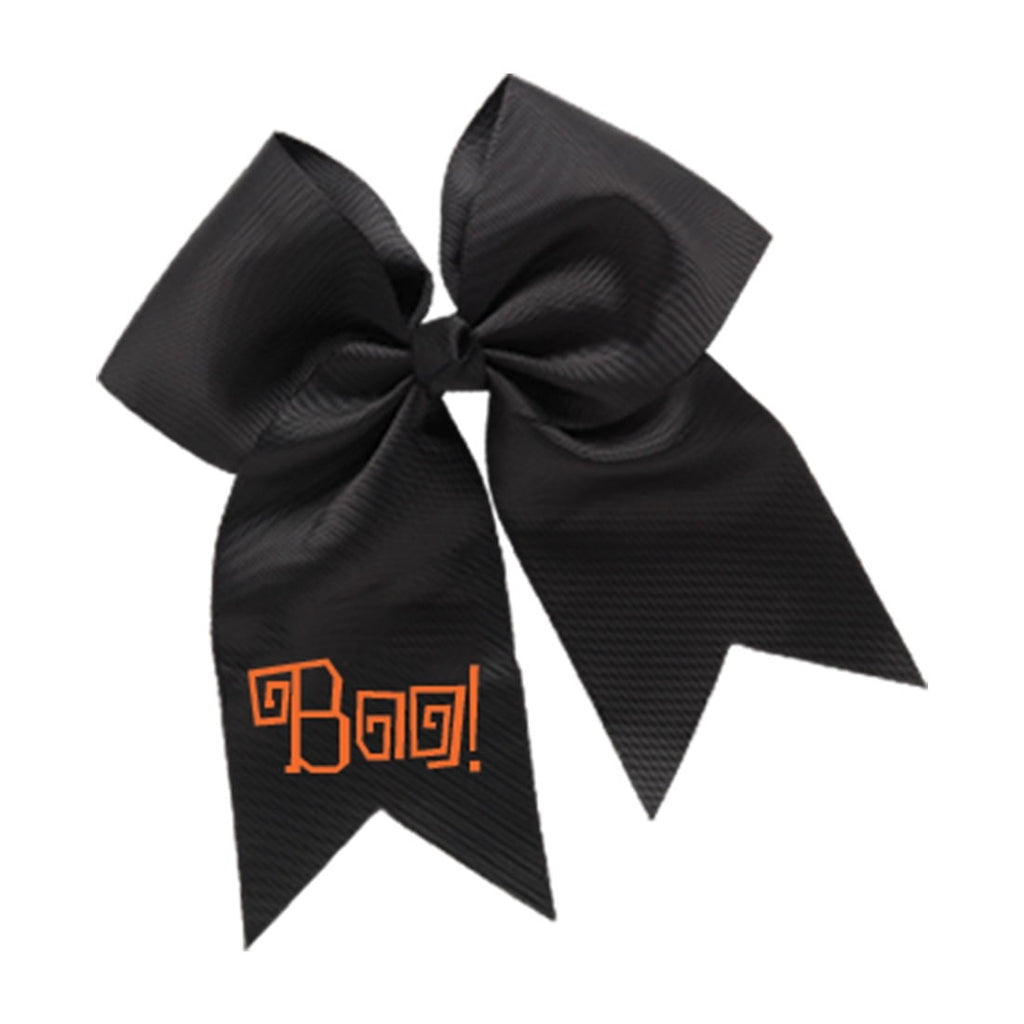 Boo! Black Hair Bow