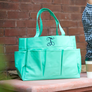 7 Exterior Pockets! kkgivingtree - Mint Carry All Bag - K&K's Giving Tree