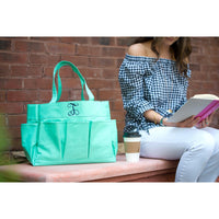 kkgivingtree - Mint Carry All Bag - K&K's Giving Tree