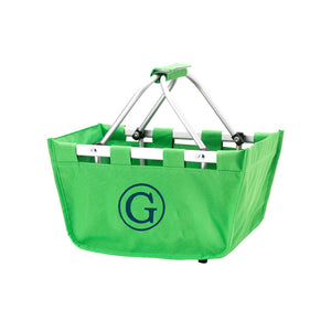 Green Mini Market Tote - Perfect Carry All Size - K&K's Giving Tree