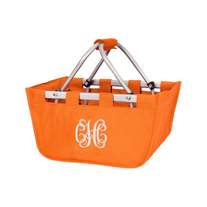 Orange Mini Market Tote - Perfect Carry All Size - K&K's Giving Tree