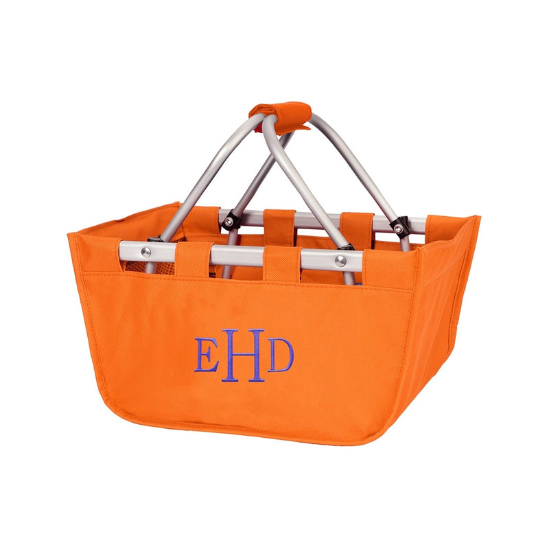 Orange Mini Market Tote - Great for Gifts - K&K's Giving Tree