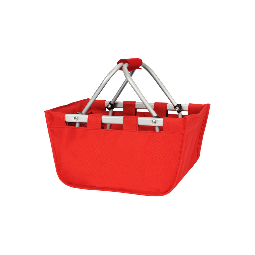 Red Mini Market Tote - Perfect Carry All Size - K&K's Giving Tree